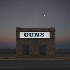 "Saatchi Art Artist Ed Freeman; Photography, ""Gun Store, Vernon TX. Edition 1 of 9"" #art"