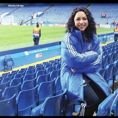 Photo of Chelsea AFC physio Eva Carneiro by Jaffa #cfc
