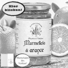 Feinste Orangenmarmelade, quasi aus dem päpstlichen Garten. Hier klicken: http://blogde.rohinie.com/2013/01/honig/ #Vatikan #Konfituere #Marmelade #Orange