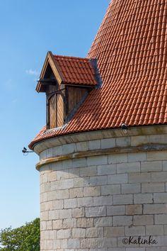 Kuressaare castle artillery tower, Saaremaa island, Estonia