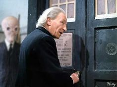 The first Doctor...wait a minute... For a second I thought I saw something. Why do I feel so compelled to pin this?!