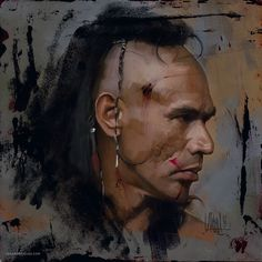 'Magua' interpreted by Wes Studi in The Last of the Mohicans…
