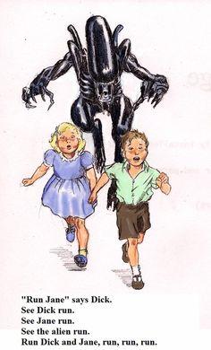 Alien,Run!