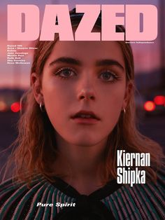 Kiernan Shipka for Dazed Magazine Spring 2016 - PPT design inspiration Dazed Magazine, Magazine Editorial, Editorial Design, Editorial Fashion, Magazine Wall, Media Magazine, Magazine Layouts, Magazin Covers, Magazin Design