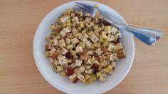 Kartoffel-Gemüse-Pfanne mit Tofu