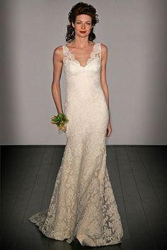 Lace Wedding Dress - pretty for a friend