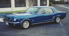 66 mustang gt   1966 GT Mustang Coupe V8 289 Auto