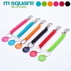 M Square Travel Accessories For Lanyard Keychain Anti Lost Wallet Phone Strap Key Ring Holder Strap