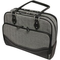 "Mobile Edge Herringbone Briefcase For 14.1"" Notebooks (small)"