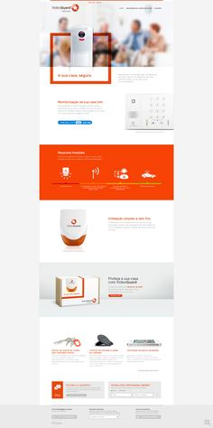 Web design clean white