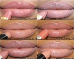 drugstore nude lipsticks:  Revlon Super Lustrous Lipstick - Rose Velvet  Milani Color Perfect Lipstick - Nude Creme  Wet n Wild Mega Last Lip Color - Bare It All 902C  Rimmel Moisture Renew Lipstick - Spotlight Beige  Maybelline Color Sensational Lipstick - Totally Toffee  Rimmel Kate Moss Lipstick - 14