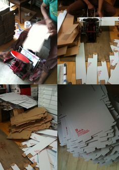 nauli: Working Space: Letterpress Packaging // Arbeitsplatz: Letterpress Verpackung