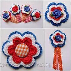 *Ik hou van Holland* ***Nieuw*** - Haakmuts  Wie kan dit voor mij maken? Groetjes Loesje Hand Crochet, Crochet Lace, Going Dutch, Making Hair Bows, Girl Scouts, Crochet Flowers, Holland, Crochet Necklace, Cross Stitch