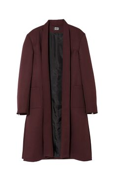 COAT: 100% WOOLLINING: 100% ACECATEZIP: YKKFABRIC: ITALYTHE MODEL IS WEARING SIZE LARGE AND IS 1.91 TALL
