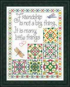 Little Things, counted cross-stitch