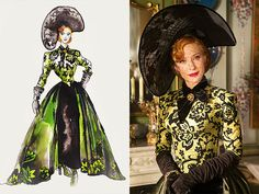 "The muse behind Cate Blanchett's ""startling and stunning"" look? Costume designer Sandy Powell says she was inspired by '..."