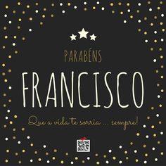 Parabéns Francisco