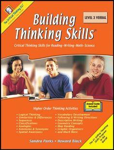 Building Thinking Skills Book 3 Verbal