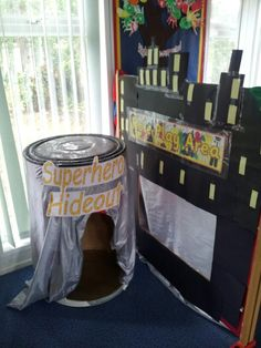 Superhero role play area