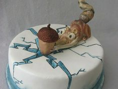 """We have collection of stunningly beautiful cake decorating to help inspire your baking passions and delight to the guest of honor. Take a look at the gallery board """"Cake Designs"""" Ice Age Cake, Bolo Original, Hand Painted Cakes, Funny Cake, Character Cakes, Crazy Cakes, Novelty Cakes, Occasion Cakes, Love Cake"""