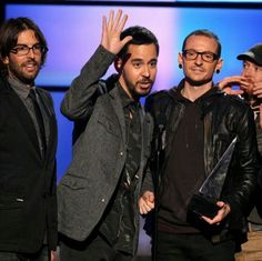 Raise your hand if you are in the best band ever. That's right Mike.