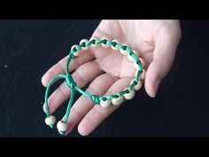 Hello everyone, here is my new video for DIY Summer Bracelets. They are super easy to make and look super cool and are perfect for gifts to your friends or f. Macrame Tutorial, Bracelet Tutorial, Macrame Bracelets, Jewelry Bracelets, Diy Craft Projects, Diy And Crafts, Handmade Accessories, Handmade Jewelry, Armband Diy
