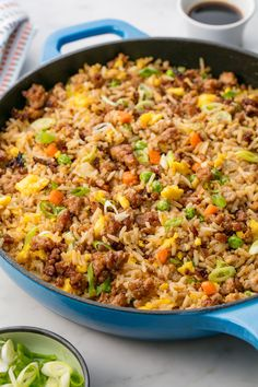 Pork Fried Rice Puts Takeout To Shame - Rice Recipes Pork Dishes, Rice Dishes, Pasta Dishes, Main Dishes, Asian Recipes, Healthy Recipes, Dutch Recipes, Healthy Food, Arroz Frito