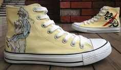 GinTama Studio Hand Painted Shoes High-top Painted Canvas Shoes,High-top Painted Canvas Shoes