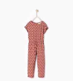 ZARA - COLLECTION SS16 - Long floral jumpsuit