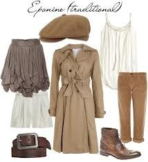 Eponine- les mis insured outfit