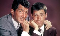 Jerry Lewis, right, with Dean Martin: in their double act, Martin took the role of worldly philanderer, and Lewis was the gormless hanger-on. Hooray For Hollywood, Hollywood Stars, Classic Hollywood, Old Hollywood, Jerry Lewis, Dean Martin, Old Movie Stars, Humphrey Bogart, Dimples