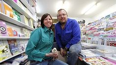 Theodore newsagency owners Denise and Paul Fowkes