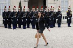 Aurélie Filippetti ministre de la culture et de la communication. Avril 2014.