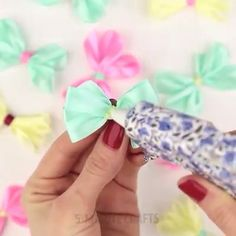 Creative DIY Ideas Creative ideas about diy and crafts. The post Creative DIY Ideas appeared first on Barbara Ritchie. Diy Craft Projects, Kids Crafts, Diy Arts And Crafts, Diy Crafts Videos, Making Hair Bows, Diy Hair Bows, Diy Ribbon, Ribbon Crafts, Diy Y Manualidades