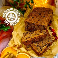 Easy Vegan Christmas Cake | Vegetarian Society Vegan Christmas, Christmas Baking, Christmas Recipes, Recipe Collection, Candied Orange Peel, Home Baking, Vegan Cake, Cake Batter