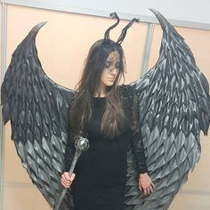 """""""#Halloweenwings #cosplaywings"""""""