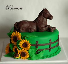 With A Horse on Cake Central