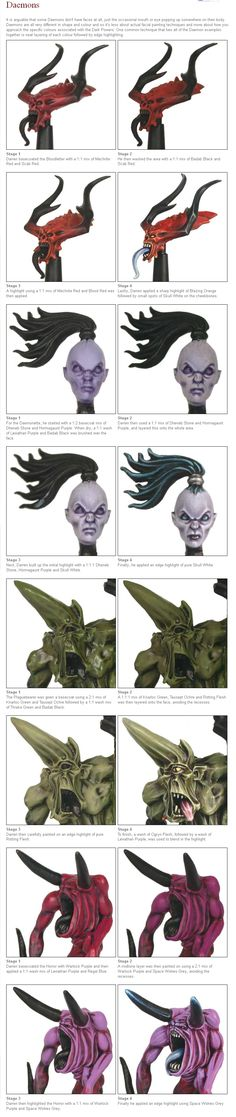 Eavy Metal Monstrous Faces Web Tutorials - Imgur                                                                                                                                                                                 Mehr