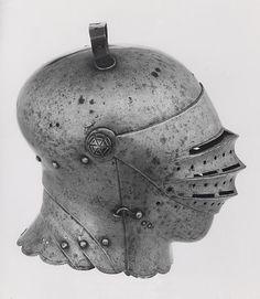 European Close Helmet, c. 1510, Germany, Art Institute of Chicago.