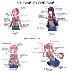 Why All Dokis are Okie Doki : DDLC