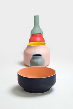Seams: #Ceramic Centerpieces by Benjamin Hubert for Bitossi