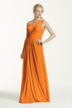http://www.davidsbridal.com/Product_long-mesh-dress-with-one-shoulder-neckline-f15928_bridesmaid-dresses-all-bridesmaid-dresses - LINDSEY (tangerine)