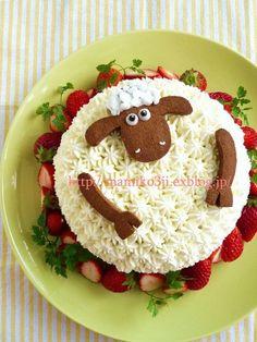 ひつじのショーンのケーキ。| ウーマンエキサイト みんなの投稿
