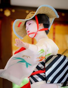 雀踊り Sparrow dance 舞妓 maiko 清乃 kiyono 祇園祭 舞踊奉納 KYOTO JAPAN
