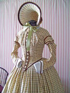 1850's day dress