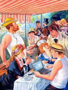 Modern Renoir Google Image Result for http://jtmorrow.com/2012/2012-Slideshow/slides/classical-art-parody-intro.jpg