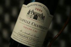 Chapelle-Chambertin 2006 Grand Cru. Domaine Des Tilleuls. Vin rouge de Bourgogne #grandcru #wine #winelover