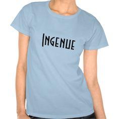 Ingenue T Shirt