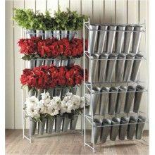 florist storage | ... Racks, Ribbon Racks, retail store displays » Flower Display Racks