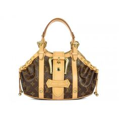 LV Canvas Theda PM Bag